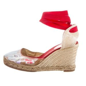 Christian Louboutin Brigette Espadrille Wedges